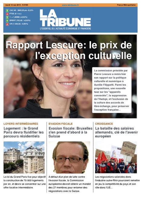 """La Tribune""... vous salue | DocPresseESJ | Scoop.it"