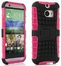 myLife Fruity Pink + Black Rugged Design Two Piece Neo Hybrid (Shockproof Kickstand) Case for the All-New HTC One M8 Android Smartphone - AKA, 2nd Gen HTC One (External Hard Fit Armor With Built in... | Bean bag Chair | Scoop.it