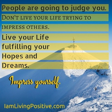 LIVING POSITIVE - Timeline Photos | Facebook | Today, I learned | Scoop.it