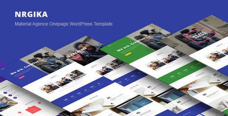 NRGika - Premium OnePage Portfolio WordPress Theme | Front End Development | Scoop.it