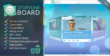 Storyline Board WordPress Theme v1.1 | Download Free Full Scripts | Scoop | Scoop.it