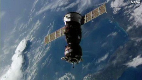 The arrival of three new astronauts on the International Space Station completes the Expedition 49 crew | Science and technology | Scoop.it