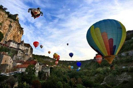 Montgolfiades de Rocamadour: Un week-end mémorable | Medialot | Divers : tourisme, culinaire... | Scoop.it
