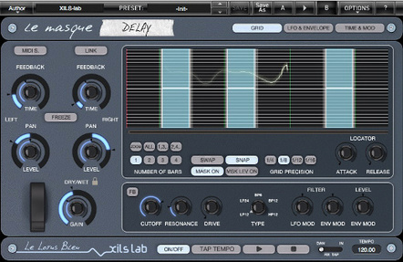 Review: XILS-lab LeMasque Delay 1.5 : SonicScoop – Creative, Technical & Business Connections For NYC's Music & Sound Community   independent musician resources   Scoop.it