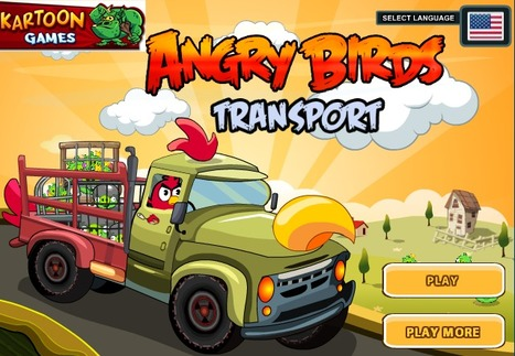 Angry Birds Transport | online games | Scoop.it