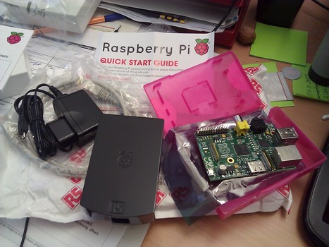 Finally recieved my long awaited @Raspberry_Pi package | Raspberry Pi | Scoop.it