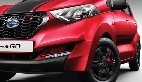 Datsun redi-GO Sport Edition launched at Rs 3.49 lakh | Maxabout Cars | Scoop.it