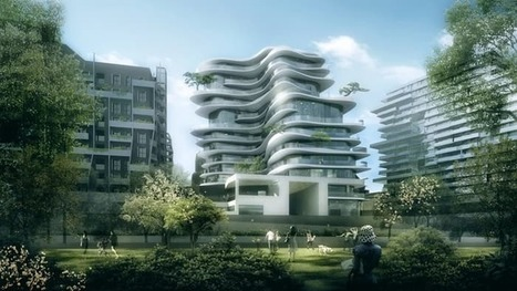Undulating apartment block puts Paris on show | Real Estate Plus+ Daily News | Scoop.it