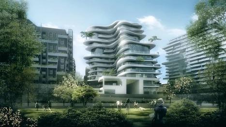 Undulating apartment block puts Paris on show | Stu Robarts | GizMag.com | L'usager dans la construction durable | Scoop.it