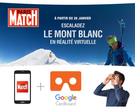 Paris Match escalade le Mont-Blanc | DocPresseESJ | Scoop.it
