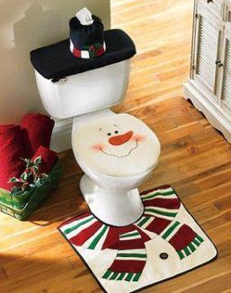 Baños & Estilos: Decoración inodoros por navidad + VIDEO   Saneamiento   Scoop.it