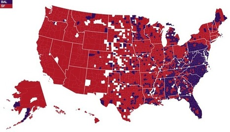 Super Bowl rooting interests | Geography Education | Scoop.it