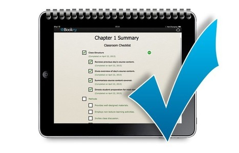 New! Add a Checklist to your iBook - Bookry Blog | iBooks Author @IHS | Scoop.it