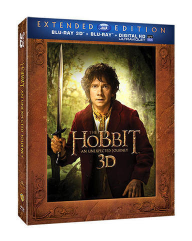 The Hobbit An Unexpected Journey: Extended Edition 3D DVD | Moviesmusicmasti | Scoop.it