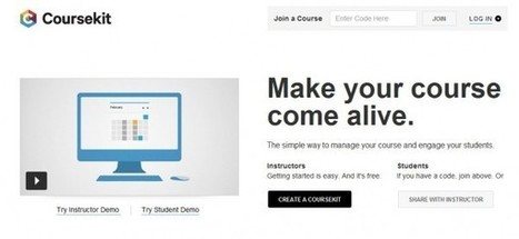 Coursekit – Herramienta para gestionar cursos y atraer estudiantes | EVA | Scoop.it