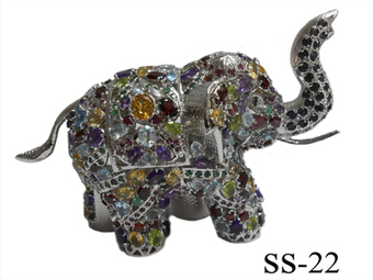 Sterling Silver Elephant   Indian shaily crafts   Scoop.it