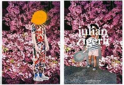 Collaged Fashion Marketing : Julian Zigerli Campaign | DESIGN | Scoop.it