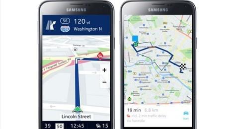 Angriff auf Google Maps: Nokia bringt Here Maps auf Android   E-Labs   Scoop.it