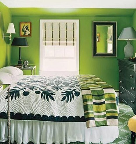10 Blue And Green Bedroom Interior Design Ideas | Interior Decorating House | real estate | Scoop.it