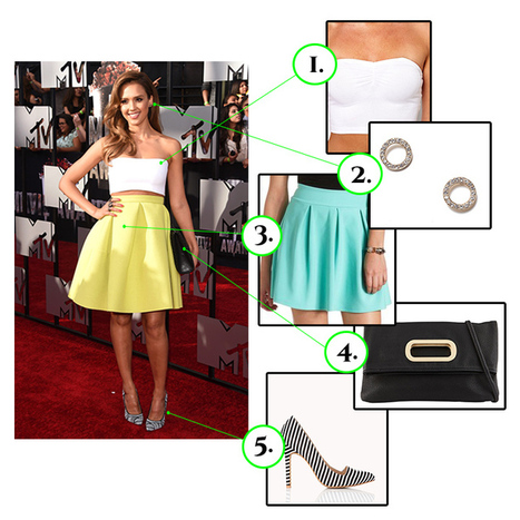 Jessica Alba at the 2014 MTV Movie Awards - Cheap Chic Styles | Chic Fashion | Scoop.it