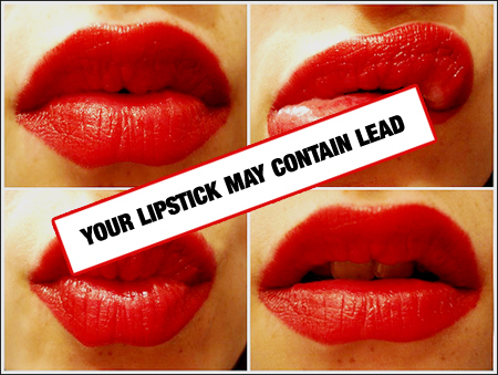 400 Popular Lipstick Shades Found to Contain Lead | Natural Society | FASHION & LIFESTYLE! | Scoop.it