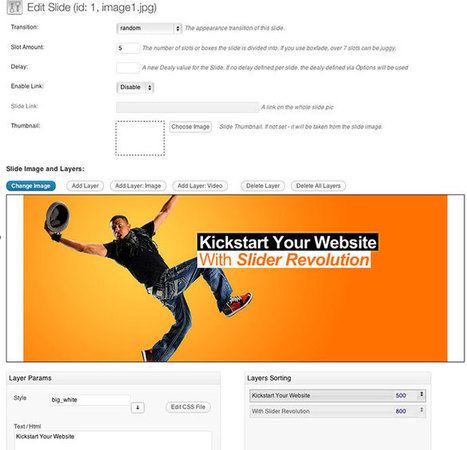 WordPress Parallax Slider Effect Plugins | Think and at like an Entrepreneur | Scoop.it