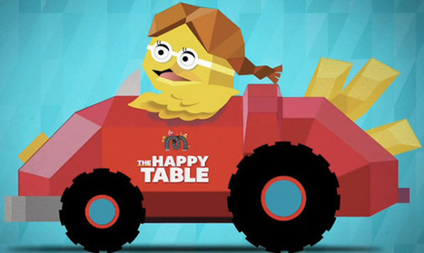 McDonald's The Happy Table, une expérience interactive en NFC ! - Nuwave Marketing | Atawad | Scoop.it