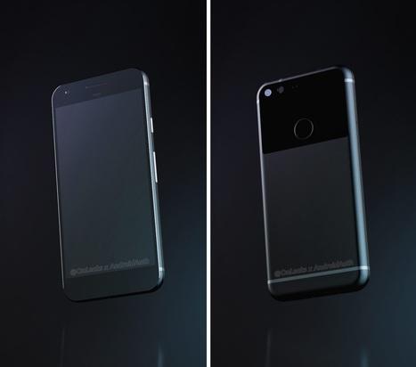 Google Pixel : de nouveaux rendus 3D et une fiche technique dans la nature | Mon mobile et moi | Scoop.it