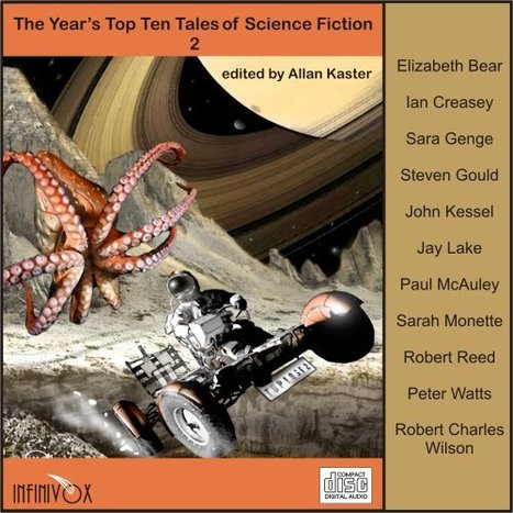 Science Fiction & Fantasy Books: The Year's Top Ten Tales of Science Fiction 2 | I want more science fiction | Scoop.it