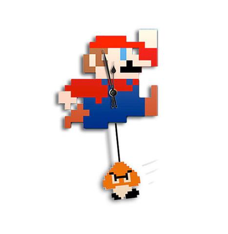 Mario Clock with Goomba Pendulum | All Geeks | Scoop.it