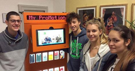 Ces lycéens ont inventé une machine qui transforme les déchets plastiques en coques de téléphone | 694028 | Scoop.it