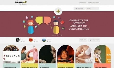 The Capsuled, una nueva y original red social de educación nacida en España | RECURSOS PARA EDUCACIÓN Y BIBLIOTECAS | Scoop.it