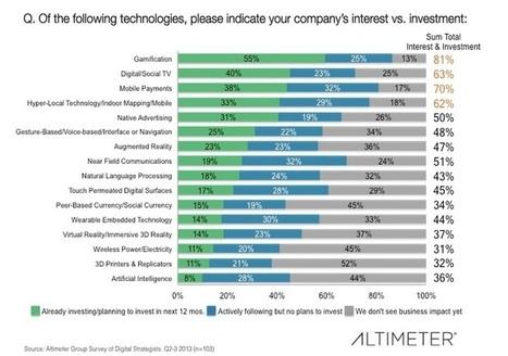 Gamification guiderà gli investimenti nei prossimi 12 mesi | i social media danno i numeri | Scoop.it