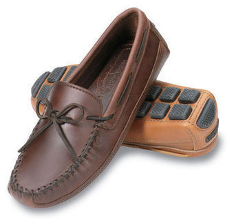 Double Bottom Cowhide Driving Moc - Shop Mens, Womens, Childrens Moccasins - The Moccasin Shop | TheMoccasinShop | Scoop.it