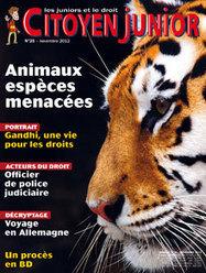 Animaux espèces menacées   Citoyen Junior n° 25   Citoyen Junior   Scoop.it