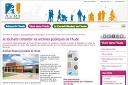 Le site Web des archives de l'Aude : c'est pour bientôt ! | Histoire Familiale | Scoop.it