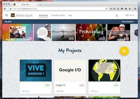 La créativité à portée de tous avec Adobe Spark | Mon Community Management | Scoop.it