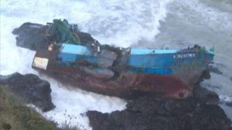 Tempête: images impressionnantes des côtes françaises et britanniques - RTBF Monde | Îles du Ponant Finistère | Scoop.it
