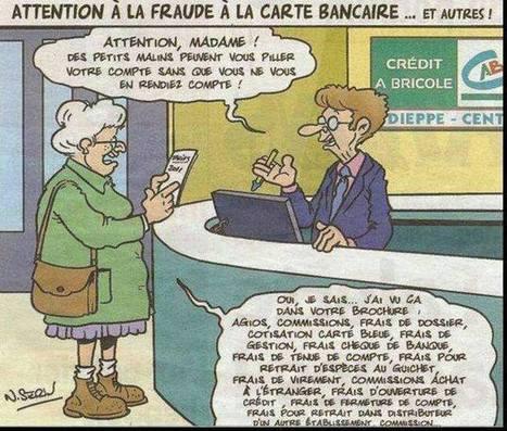 FRANCE: Attention à la fraude à la carte bancaire (humour)   Cybercrime & Privacy   Scoop.it