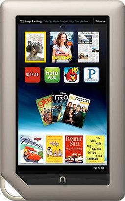 Nook Goes Full Tablet | ebook experiment | Scoop.it