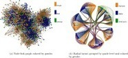Visualization techniques for categorical analysis of social networks with multiple edge sets | #SNA | e-Xploration | Scoop.it