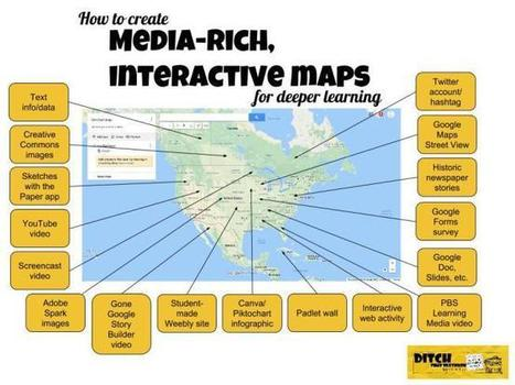 How to create media-rich, interactive maps for deeper learning via @MattMiller  | Mobile Learning | Scoop.it