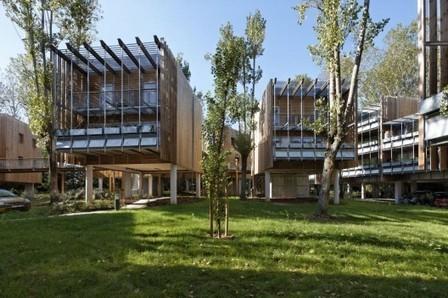 Eco-Vivienda Colectiva La Canopée / Patrick Arotcharen Architecte | Arquitectura: Plurifamiliars | Scoop.it