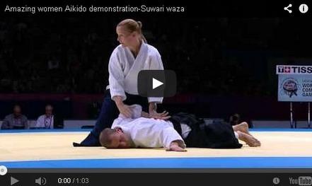 Amazing women Aikido demonstration-Suwari waza - Self Defense Classes | Self Protection | Scoop.it