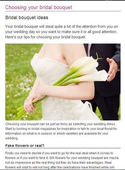 What to Consider in Choosing Bridal Flowers from a Bryan, TX Florist | Nan's Blossom Shop | Scoop.it
