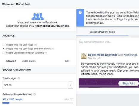 Facebook Branded Content: What Marketers Need to Know : Social Media Examiner | e-commerce & social media | Scoop.it