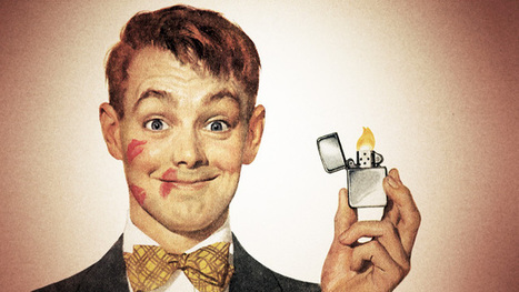 Burning for You - iconic Zippo | A Cultural History of Advertising | Scoop.it