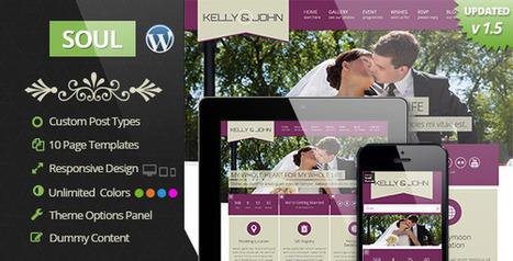Soul - Responsive WordPress Wedding Theme | Is responsive web design really worth it? | Scoop.it