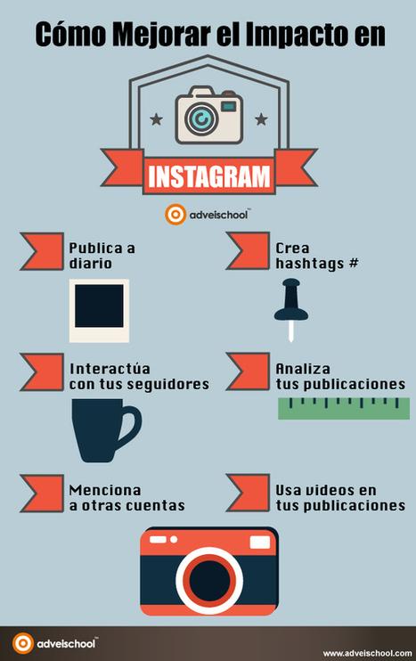 Cómo mejorar el impacto en Instagram #infografia #infographic #socialmedia | Videos en la red | Scoop.it
