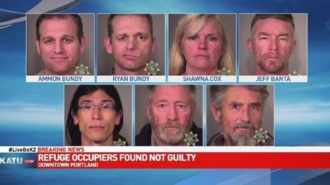 Jury finds all 7 wildlife refuge occupiers including Ammon Bundy not guilty on all counts | Criminal Justice in America | Scoop.it